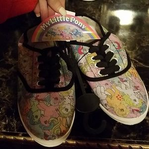 Nwt: extremely adorable adult My Little Pony shoes